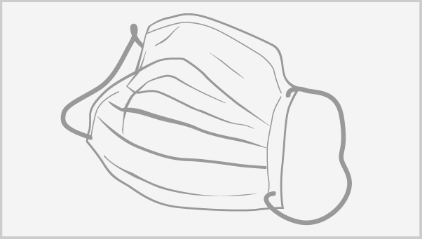 Surgical face masks protect healthcare workers from large particle